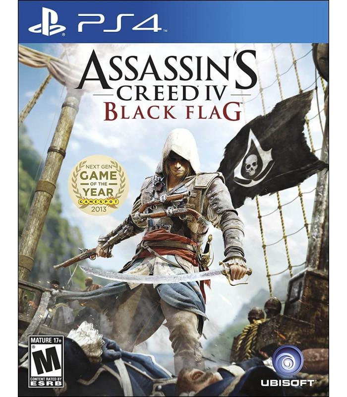 JUEGO PS4 - ASSASSINS CREED 4 BLACK FLAG