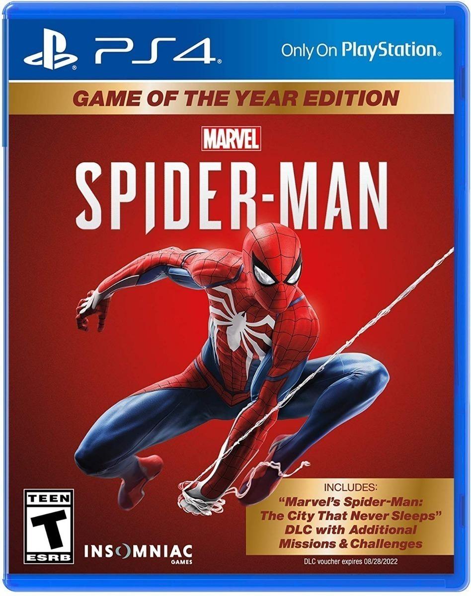 JUEGO PS4 - SPIDERMAN