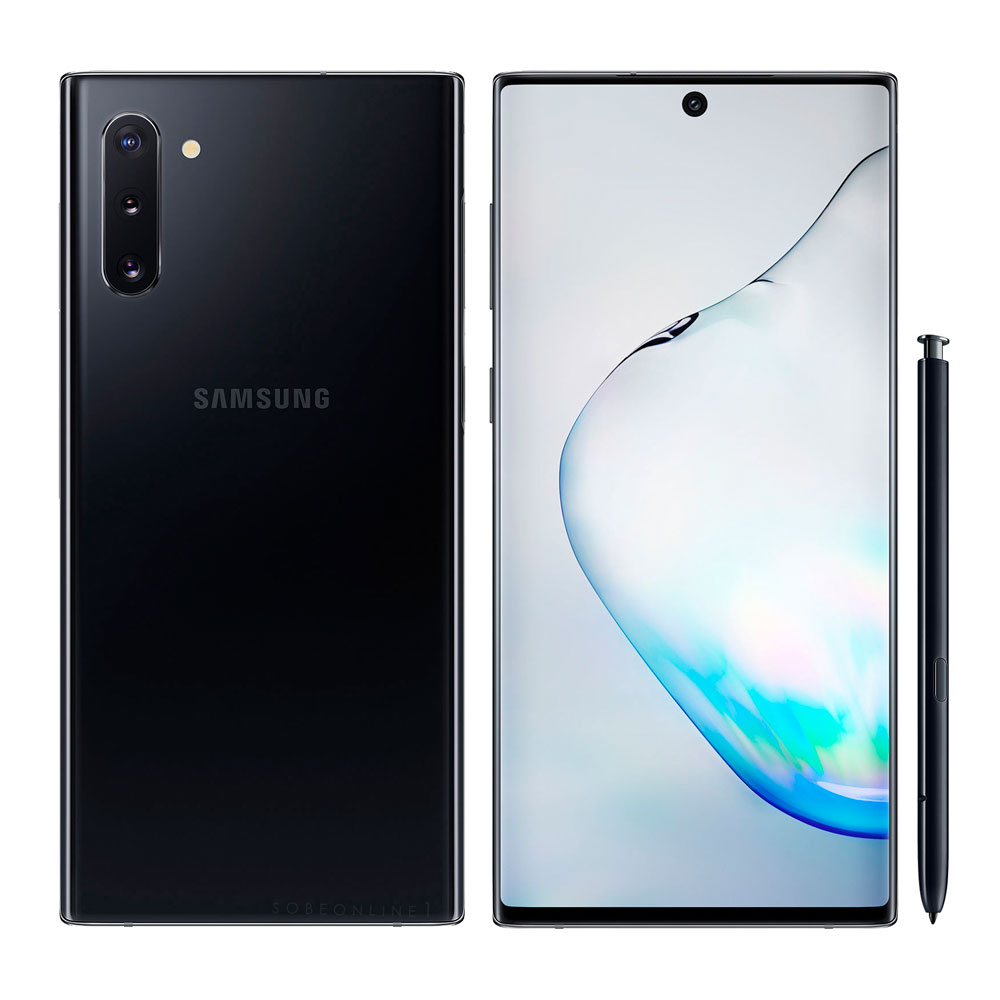 SAMSUNG NOTE 10 256 GB BLACK