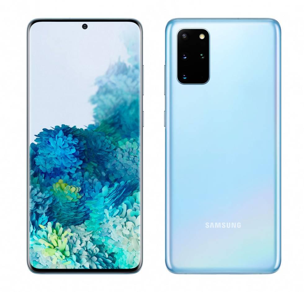 SAMSUNG S20  128 GB BLUE