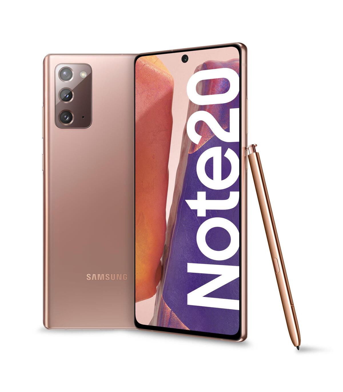 SAMSUNG NOTE 20 N980 256 GB BRONCE