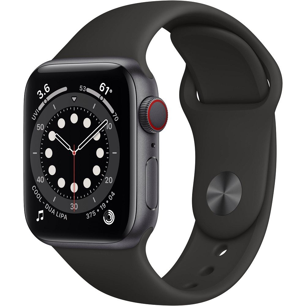 APPLE WATCH SERIES 6 40MM SPACE MG133LL/A