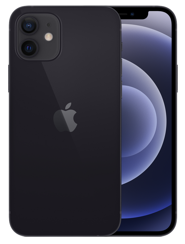 IPHONE 12 128GB MGHC3LL/A BLACK