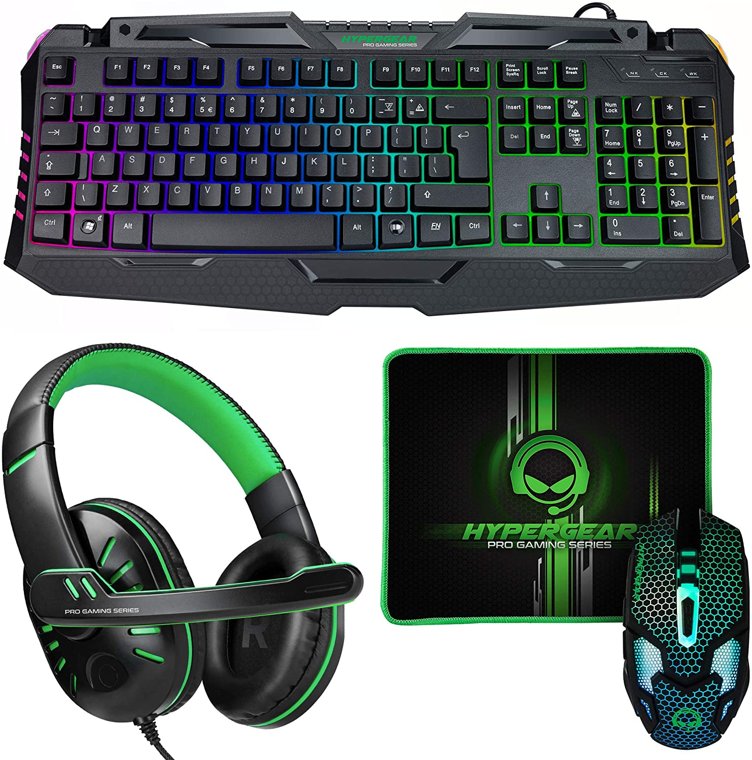 KIT GAMER 4 IN 1 HYPERGEAR