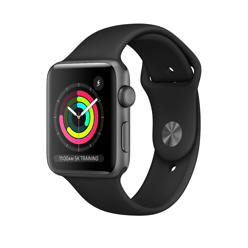 APPLE WATCH SERIES 3 38MM MQKV2LLA BK