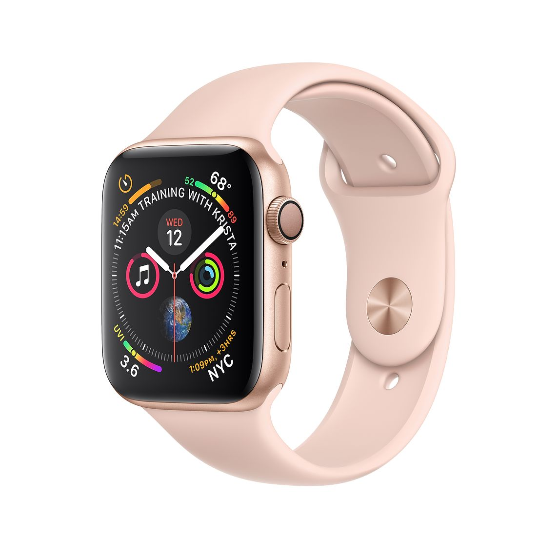 APPLE WATCH SERIES 5 44MM GOLD ROSE