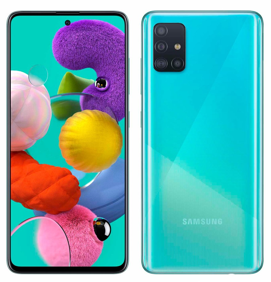 SAMSUNG A51 128 GB BLUE