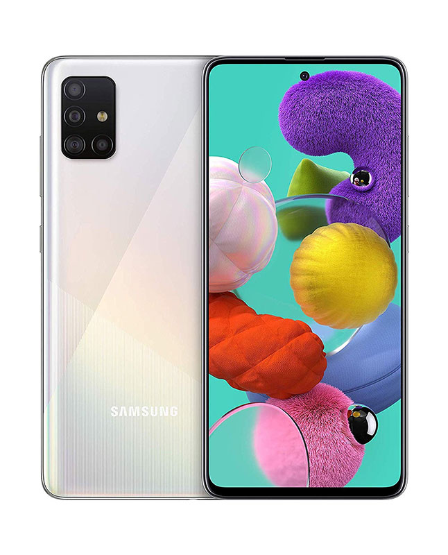 SAMSUNG A51 128 GB BLANCO