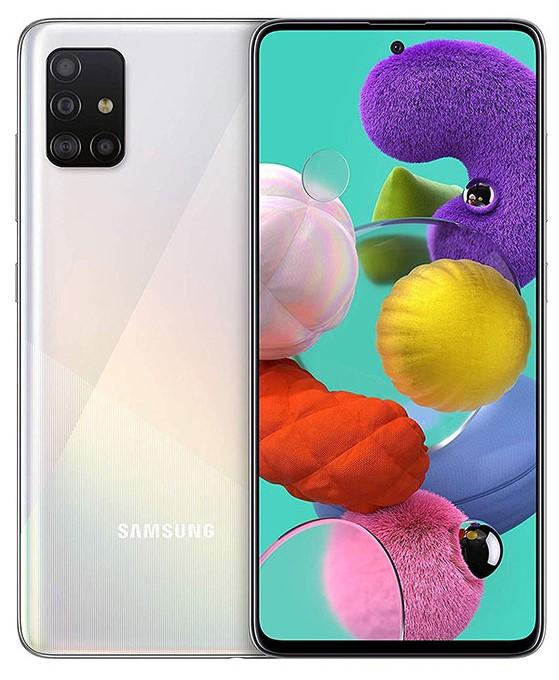 SAMSUNG A51 128 GB BLANCO