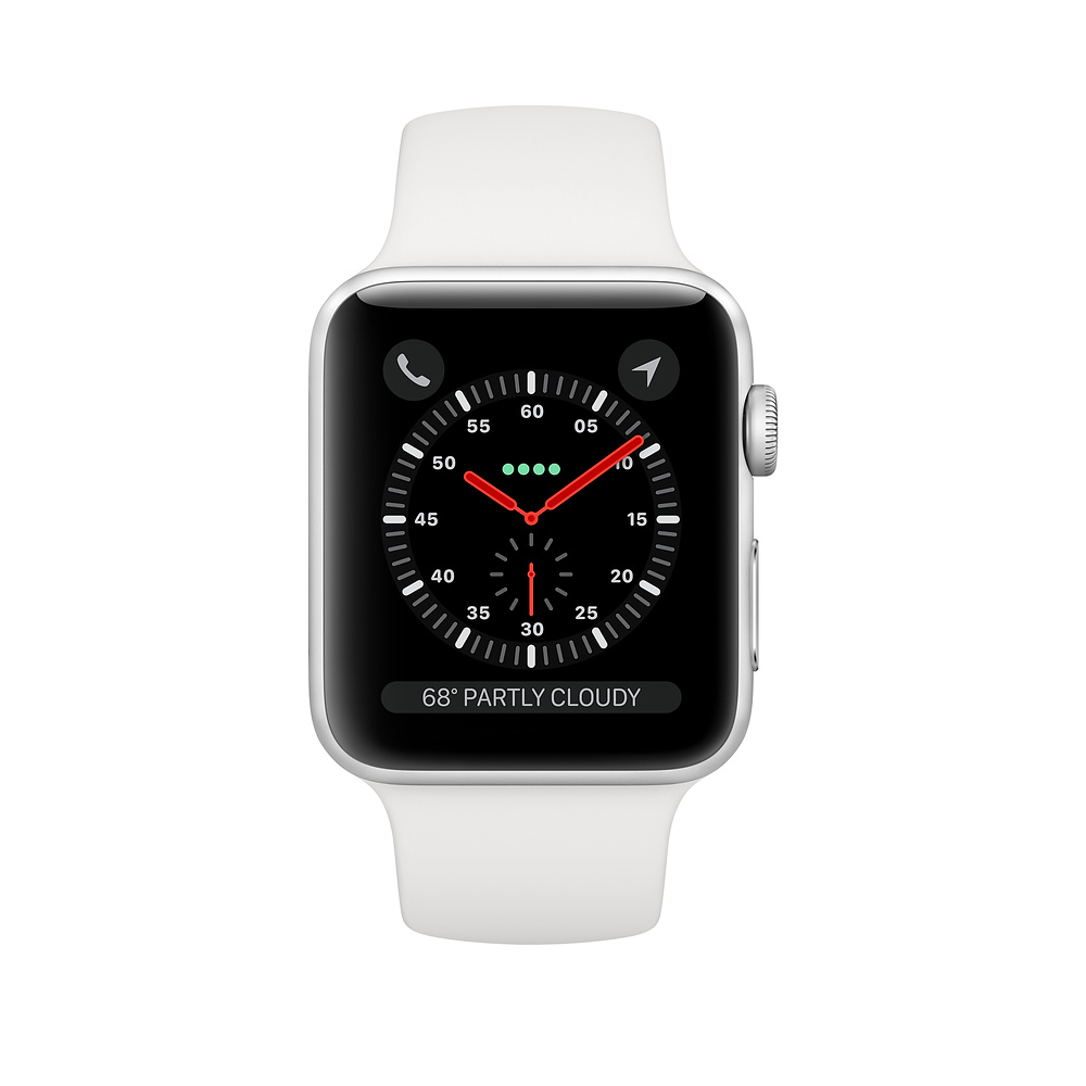 APPLE WATCH SERIES 3 38 MM SILVER