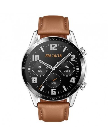 HUAWEI WATCH  GT2 46 MM LEATHER BROWN