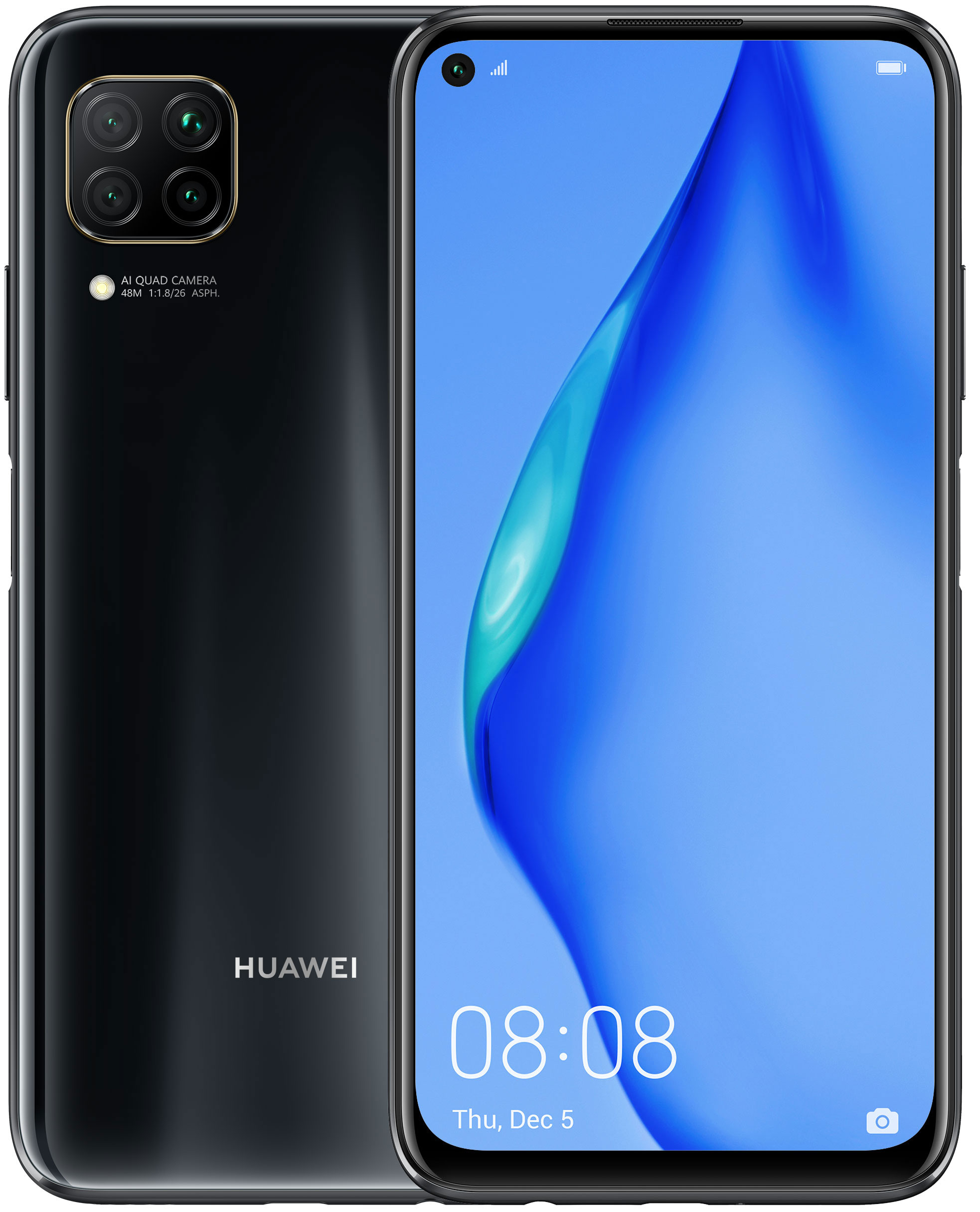 HUAWEI P40 LITE 128 GB BLACK + PARLANTE HUAWEI HW2020