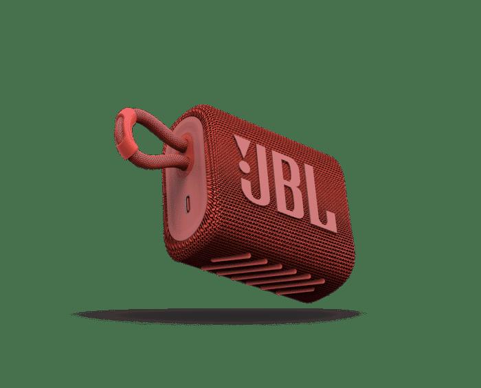 PARLANTE JBL GO 3 ROJO