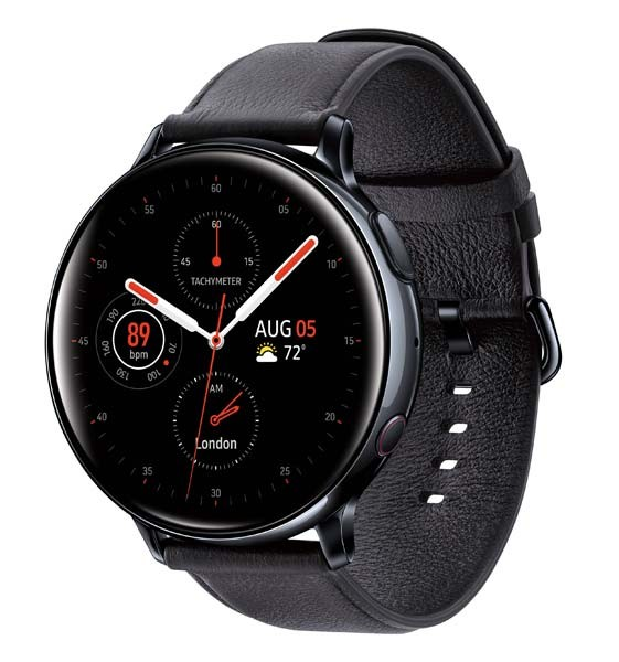 SAMSUNG ACTIVE 2 44 MM R820 STAINLESS BK