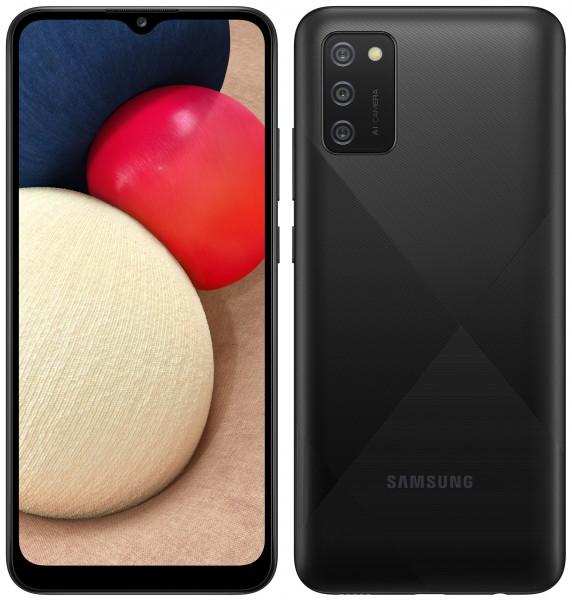 SAMSUNG A02S 64GB BLACK
