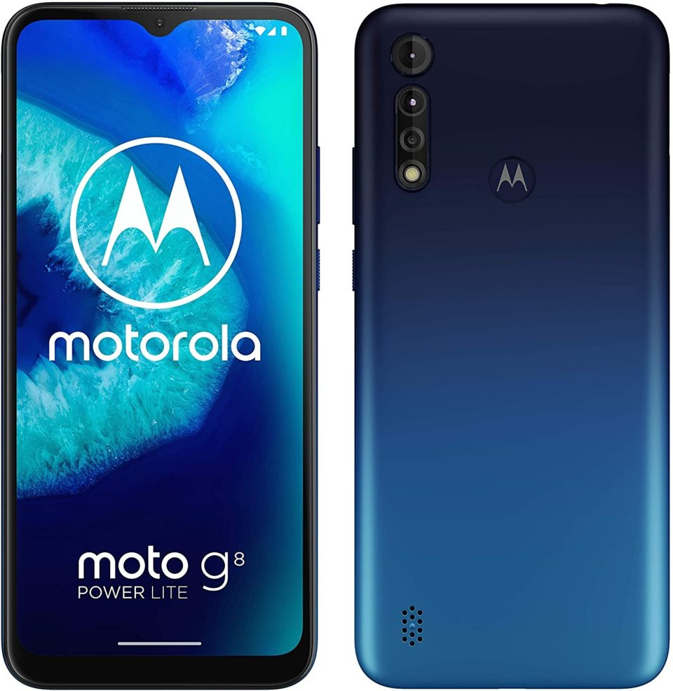 MOTOROLA MOTO G8 POWER PLUS LITE 4+64GB DUAL AZUL
