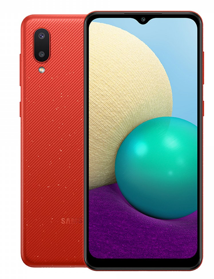 SAMSUNG A02 64GB RED