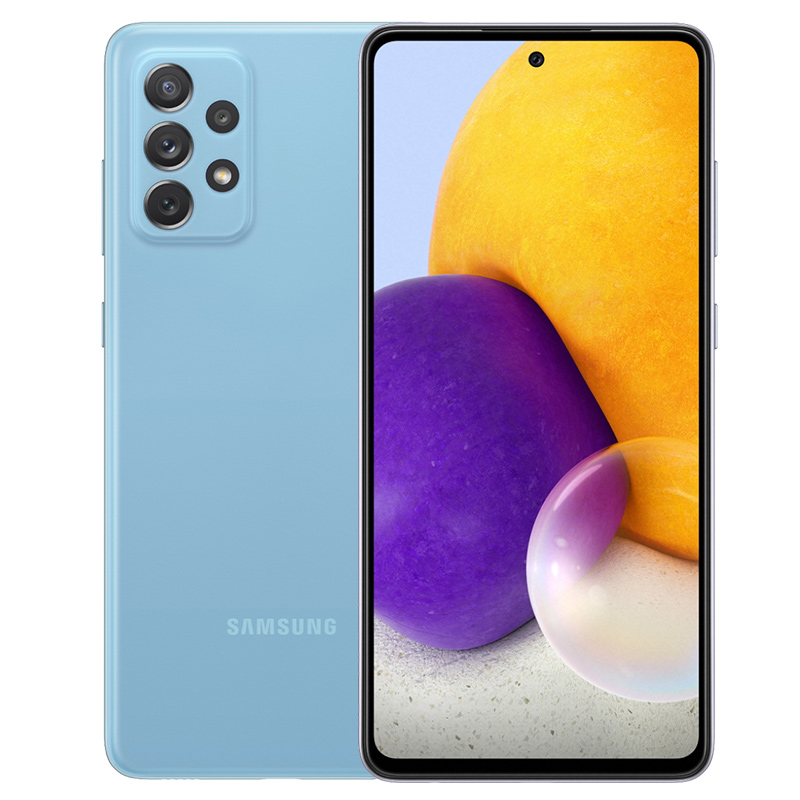 SAMSUNG A72 256 GB  BLUE